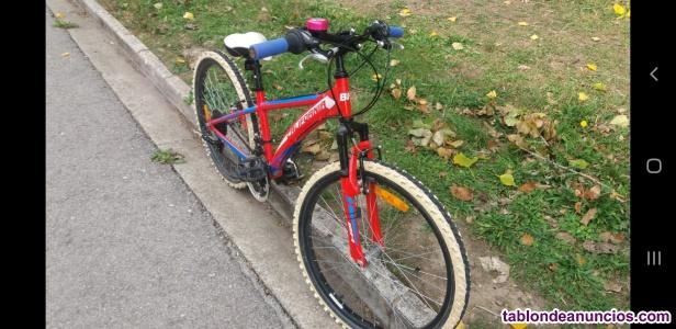 Vendo bicicleta de montaña niño/niña