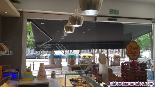 Espectacular cafetería/panadería