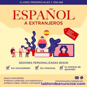 Clases de inglés y español a extranjeros
