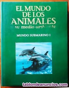 El mundo de los animales, ed. Planeta. 9 tomos