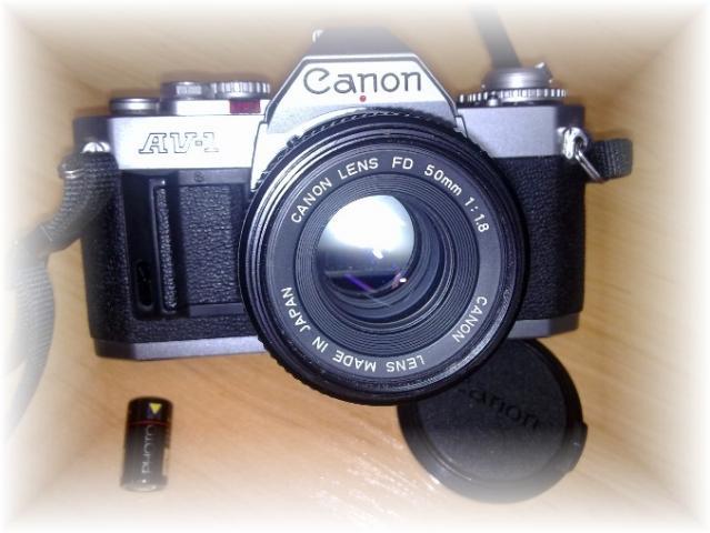 VENDO CAMARA DE FOTOS CANON REFLEX AV-1