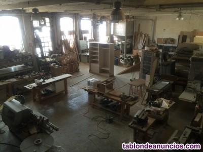 Traspaso de taller de carpintería ebanistería