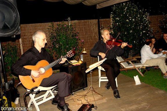 Violinista, dúos y tríos para bodas y eventos