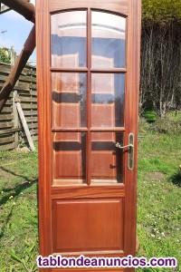 Vendo puertas madera sapelly