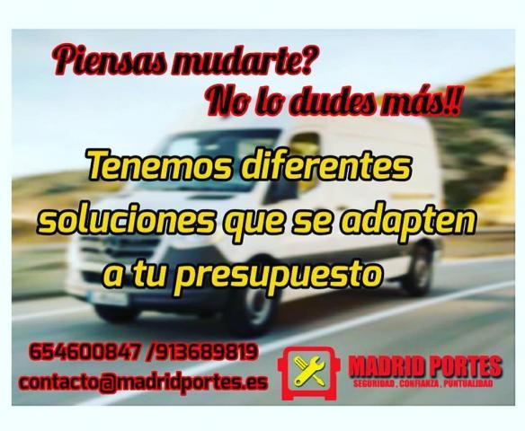 MINIMUDANZAS Y PORTES MADRID ESPAÑA