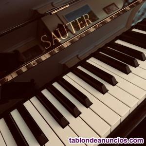 Vendo piano acustico marca sauter modelo carus