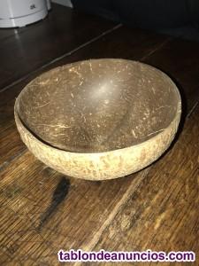Tazón / cuenco en madera de coco