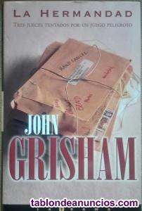 Lote de 3 libros de john grisham