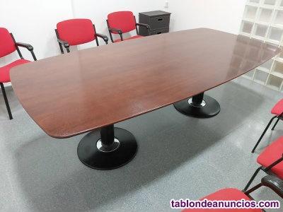 Mesa de juntas 239 x 120 sobre de madera