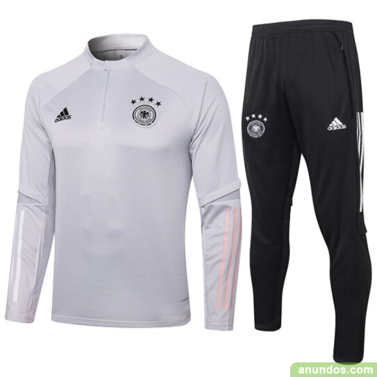 Alemania  chandal de futbol blanco,gris mas baratos -