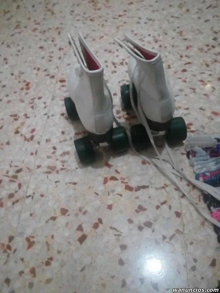 Se vende par de patines nuevos talla 38 - Valencia