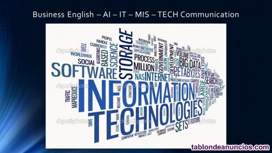 Business english ai – it – mis – tech communication for