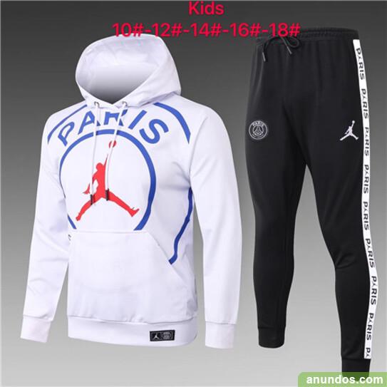 Paris  ninos hoodie chandal de futbol mas baratos -