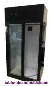 Armario expositor refrigeracion para carnes 2 puertas