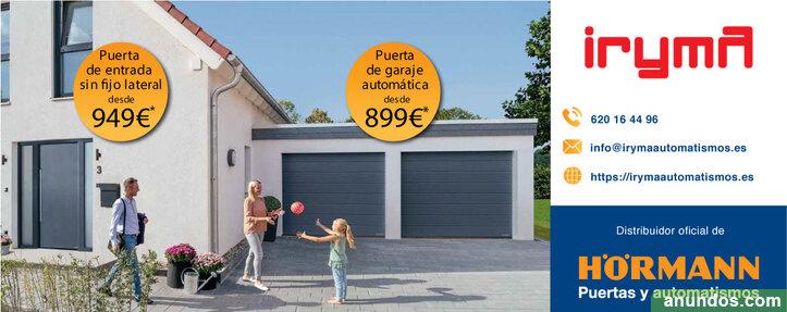 Puertas de entrada y garaje atuomáticas - Brunete