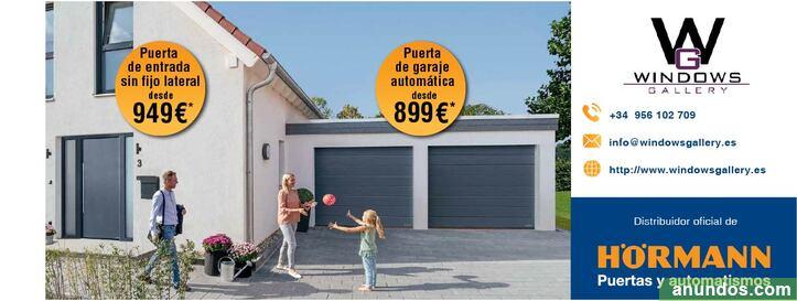 Puertas de entrada y garaje atuomáticas - Línea de la