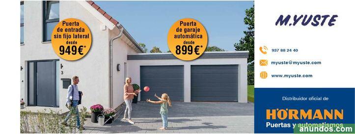 Puertas de entrada y garaje atuomáticas - Terrassa