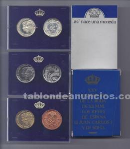 "Estuche monedas de 500 pesetas ""asi nace una moneda"""