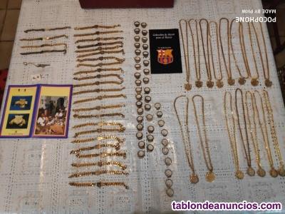 Antigua colección de joyas del barça