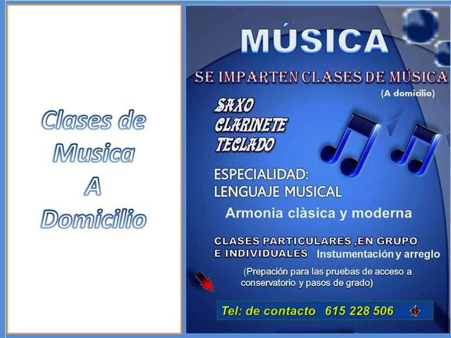 CASES DE MUSICA A DOMICILIO