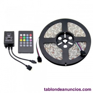 Kit tira led musical 5m rgb