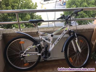 Vendo bicicleta de montaña nueva marca extreme.