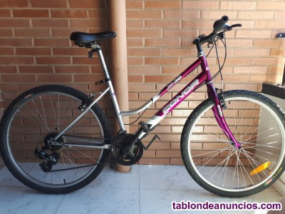 Vendo bicicleta marca connor xc 30.