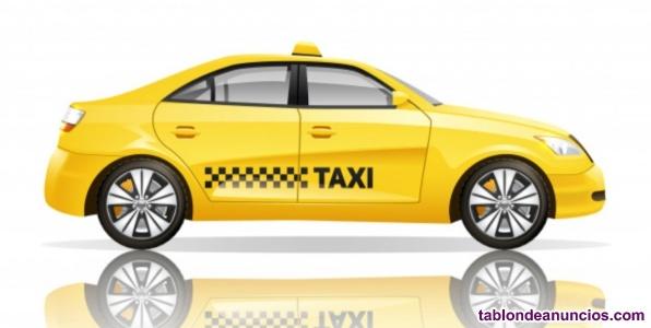 Venta de licencia de taxi con o sin vehiculo