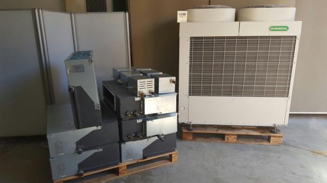 Aire acondicionado General VRV,de  frigorias+bomba