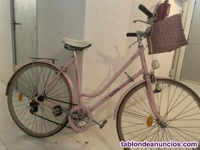 Bicicleta clásica paseo señora