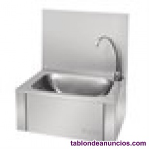 Lavabo manos libres que se activa mediante presión con la