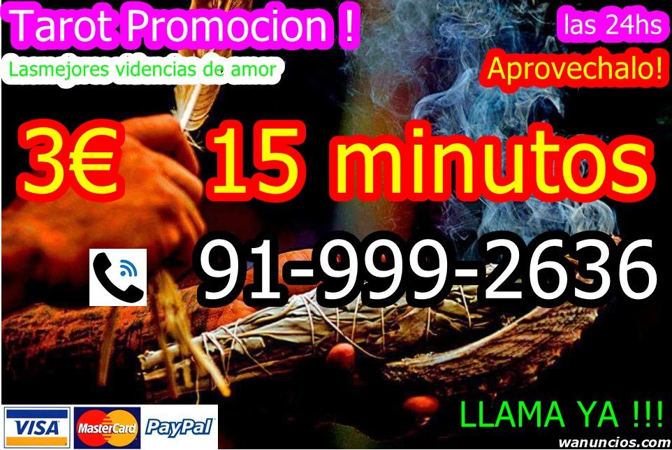 Tarot promocion 3 euros los 15 minutos las 24hs - Barcelona