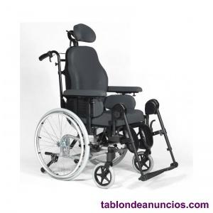 Venta silla ruedas basculante con multiposiciones y