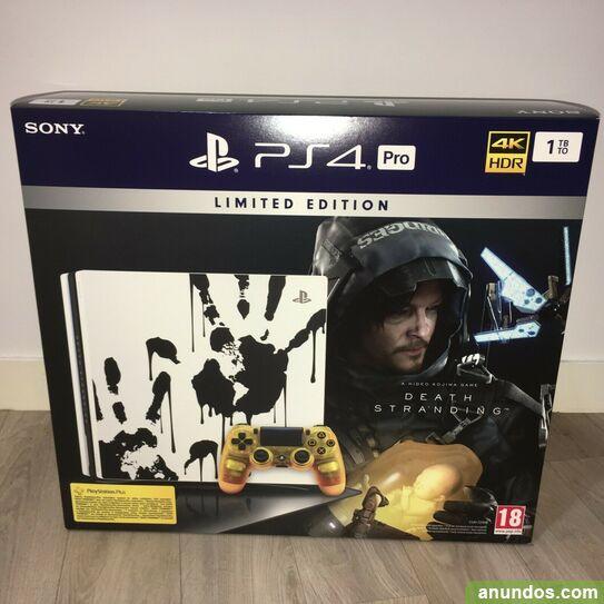 Sony playstation 4 pro edición limitada 1tb 4k ps4 pro -