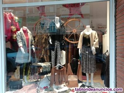 Traspaso tienda de ropa mujer