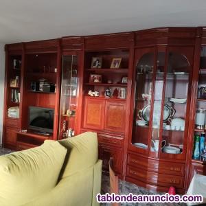 Boiserie mueble comedor madera maciza