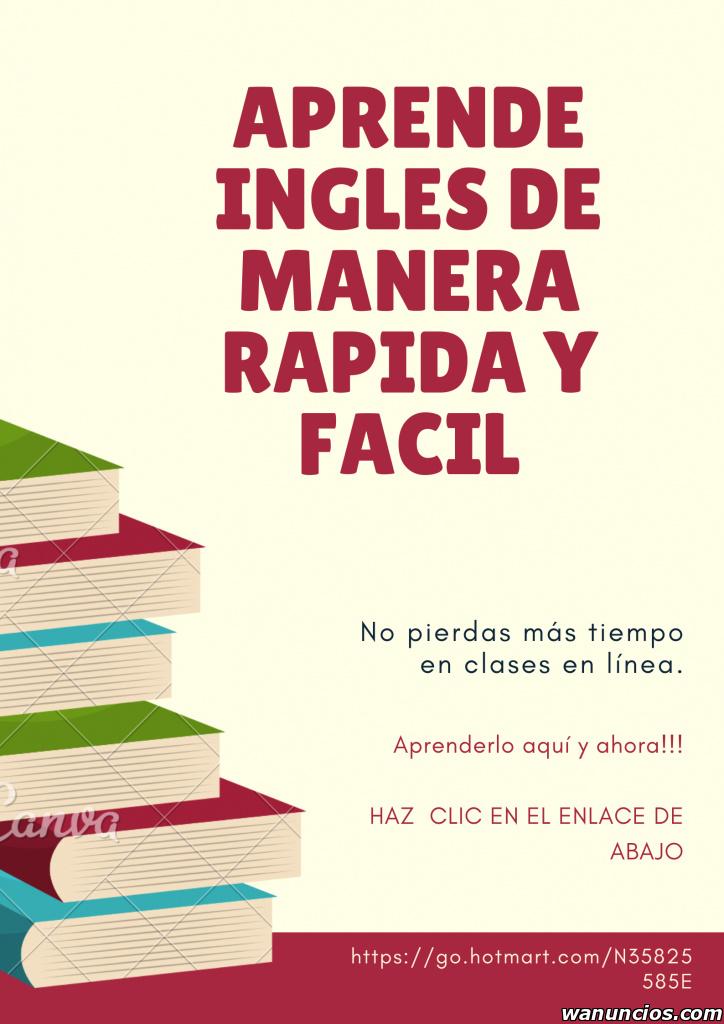 Curso de inglés 30 días - Madrid