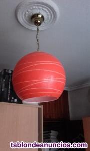 Vendo lámpara globo de techo