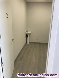 Alquiler de sala sólo para sanitarios
