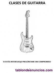 Clases de guitarra eléctrica y/o bajo
