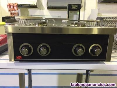 Cocina a gas 4 fuego hr