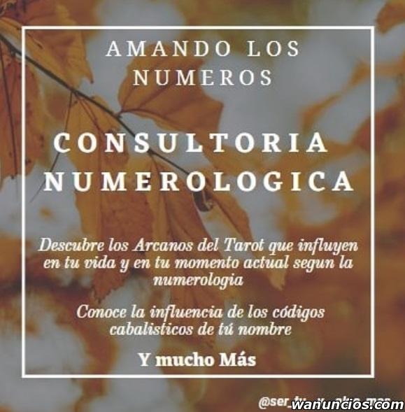 Consulta Numerológica y Tarot - Madrid