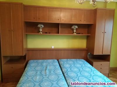 Habitación de puente de dos camas