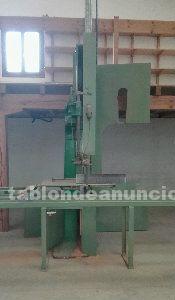 Maquinaría carpintería: Sierra de cinta de 800 con carro