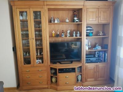 Mueble de Salón, Mesa y Estanteria