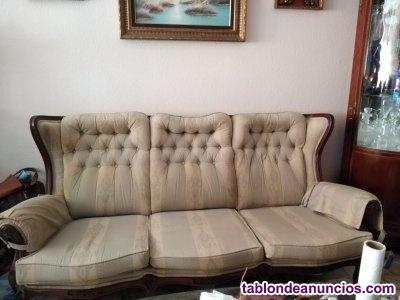 Tresillo sofa 3 plazas + 2 sillones