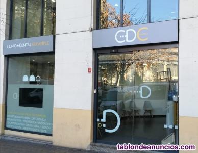 Clinica dental en traspaso eixample, barcelona