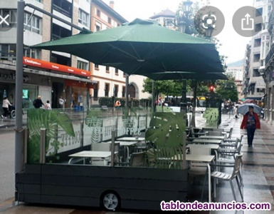 Cafeteria restaurante c3 con terraza 20 pax