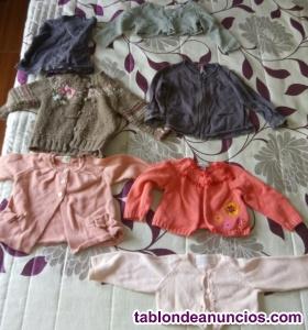Se vende ropa bebé hasta 12/meses
