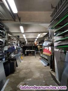 Venta metalistería que dispone de clientes fijos y